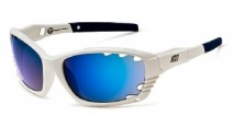 Солнцезащитные очки Dirty Dog Sport Pipe/ White / Blue Temple/ B